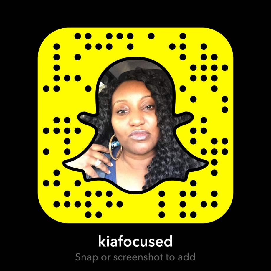 Snapchat Q&A - kiafocused