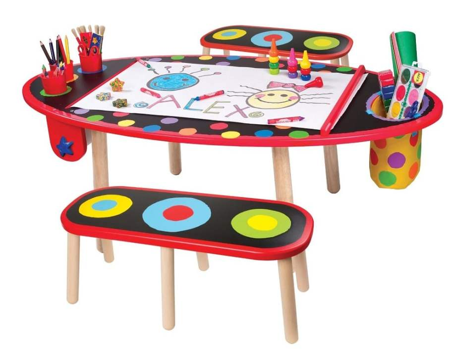 ALEX Toys Artist Studio Super Art Table - ComeWagAlong.com Holiday Gift Guide for Toddlers