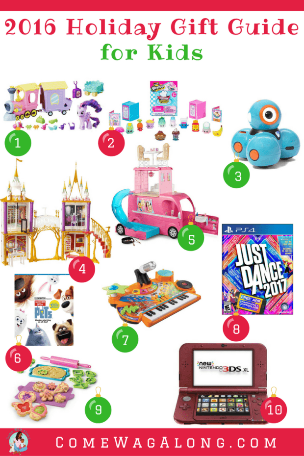 ComeWagAlong.com Holiday Gift Guide: Gifts for Kids