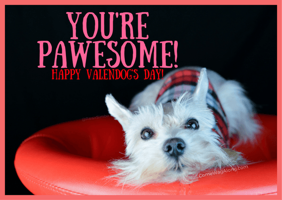 free printable valentines day cards for dog lovers comewagalongcom - Dog Valentines Day Cards