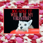 FREE Printable Valentine's Day Cards for Dog Lovers