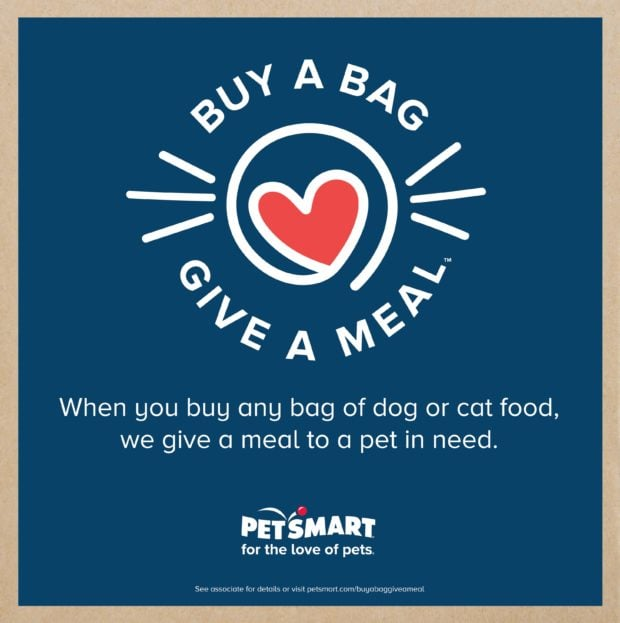 Buy a Bag, Give a Meal with PetSmart - ComeWagAlong.com