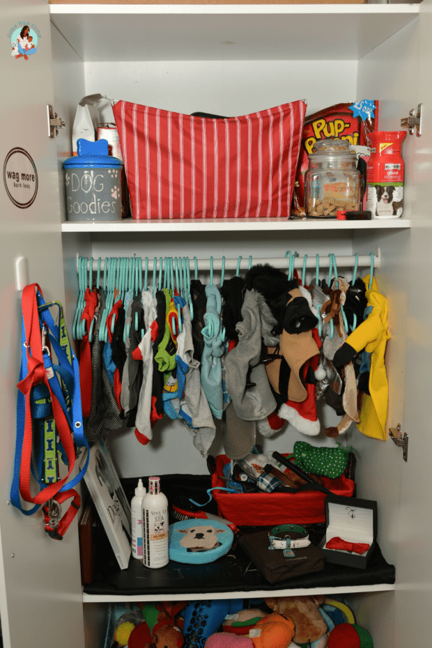 Pet Hacks -DIY Pet Closet - ComeWagAlong.com