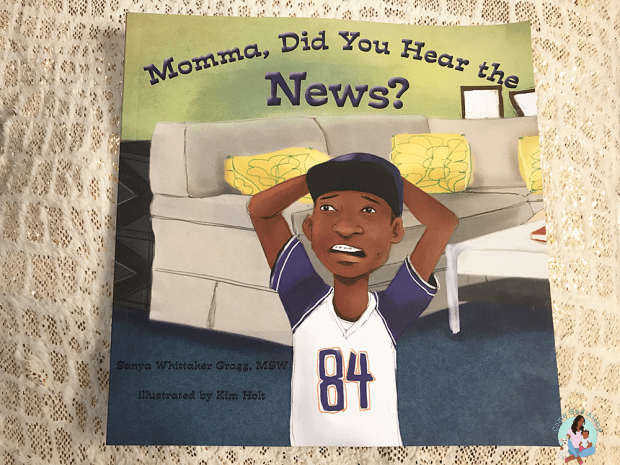 Momma Did You Hear the News Book Cover