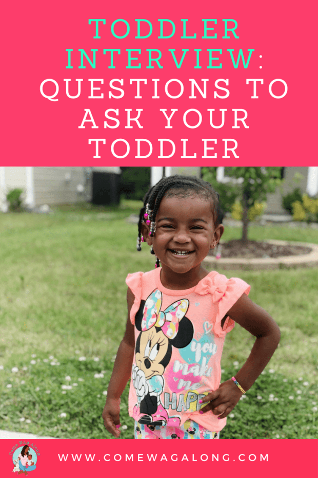 Questions to ask a Toddler