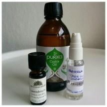 naturlig hårpleje med castor olie