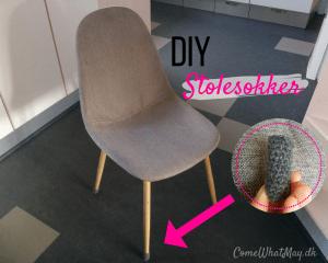 Hækl dine egne stolesokker, så du undgår at dine stole ridser gulvet. Hæklede stolesokker til stoleben