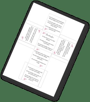 DIY bordregler til bryllupsbordet | bryllup | bordpynt