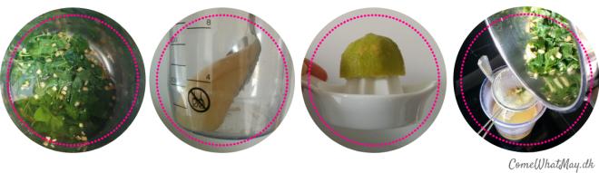 Step-by-step, hvordan du laver sunde ispinde med citronmelisse, ingefær, citron og honning, hvis du gerne vil booste dine børns sundhed. Det kan nogle gange være svært at få de sunde produkter i sine børn | lemon balm | lemon | ginger | honey | popsicles