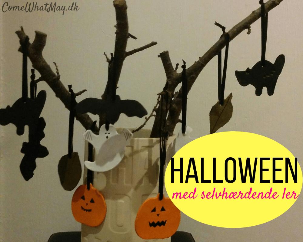 halloween-selvhaerdende-ler