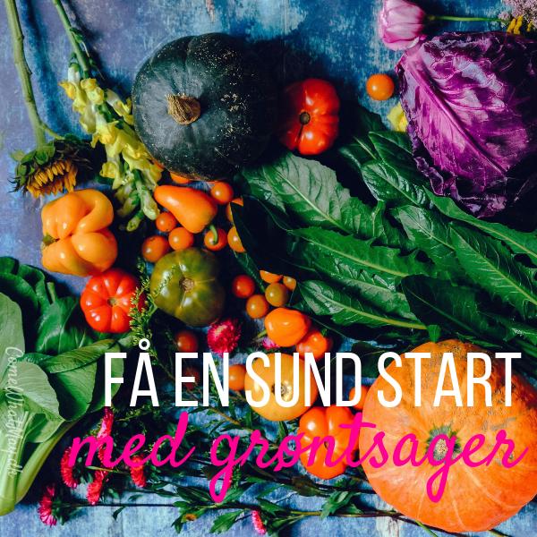 Få en sund start på året med flere grøntsager og frugter