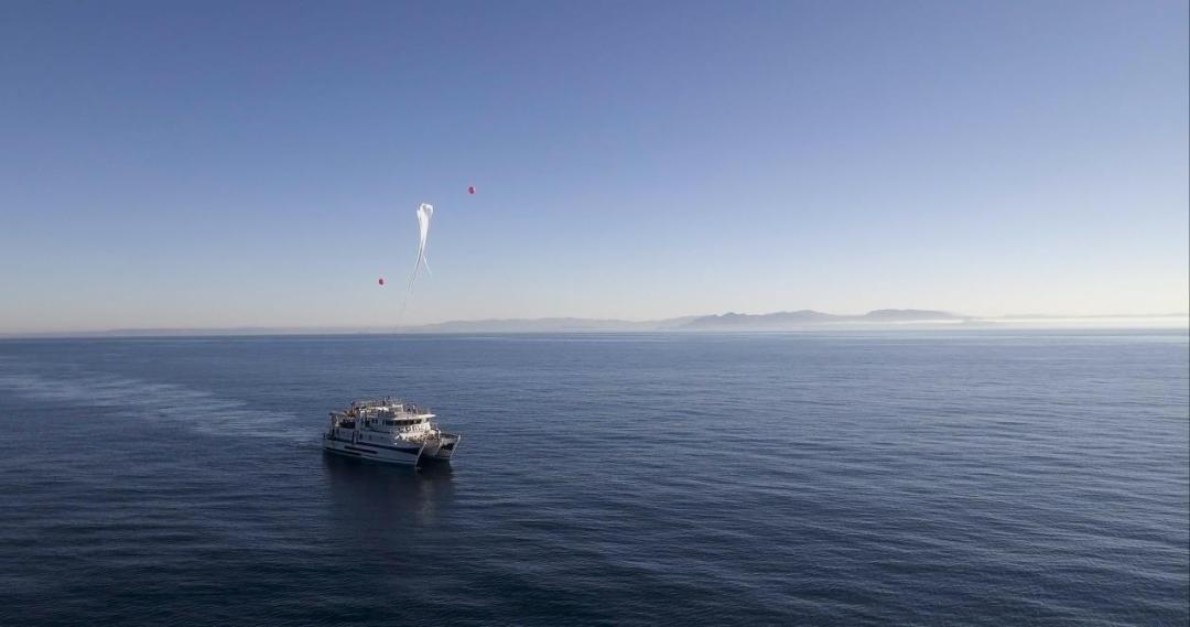 Mission C-LAUNCH COMEX et Zero 2 Infinity lancent deux ballons stratosphériques depuis la mer