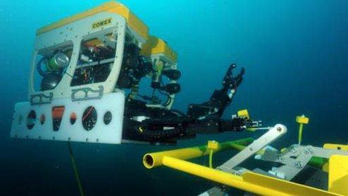 dexrov opération sous marine