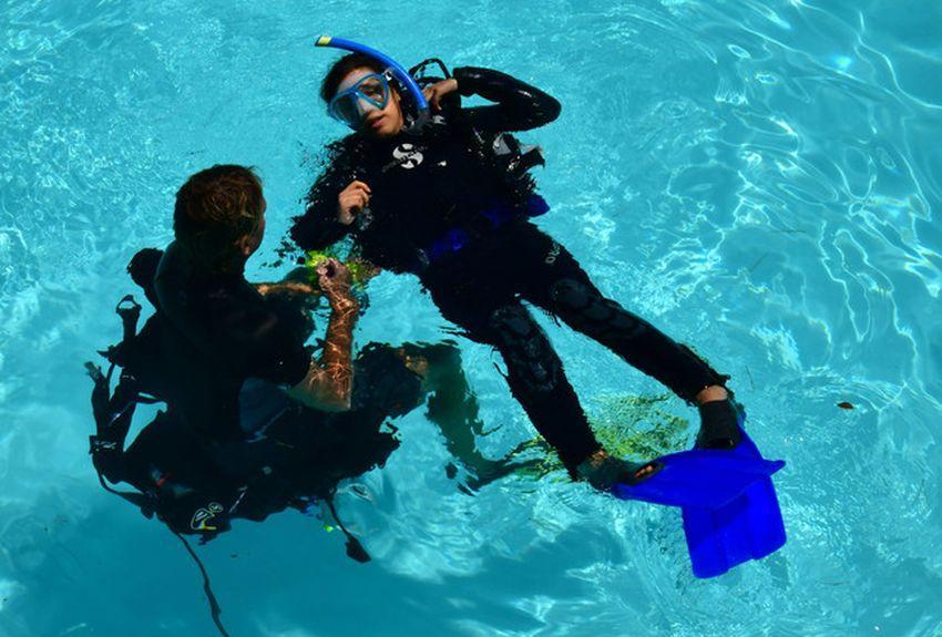 La plongée pour réduire le stress post-traumatique