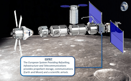 Comex and Airbus join forces around a module of the future lunar station