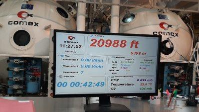 simulateur d'altitude comex