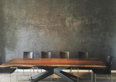 שולחן לפינת אוכל דגם פלטה