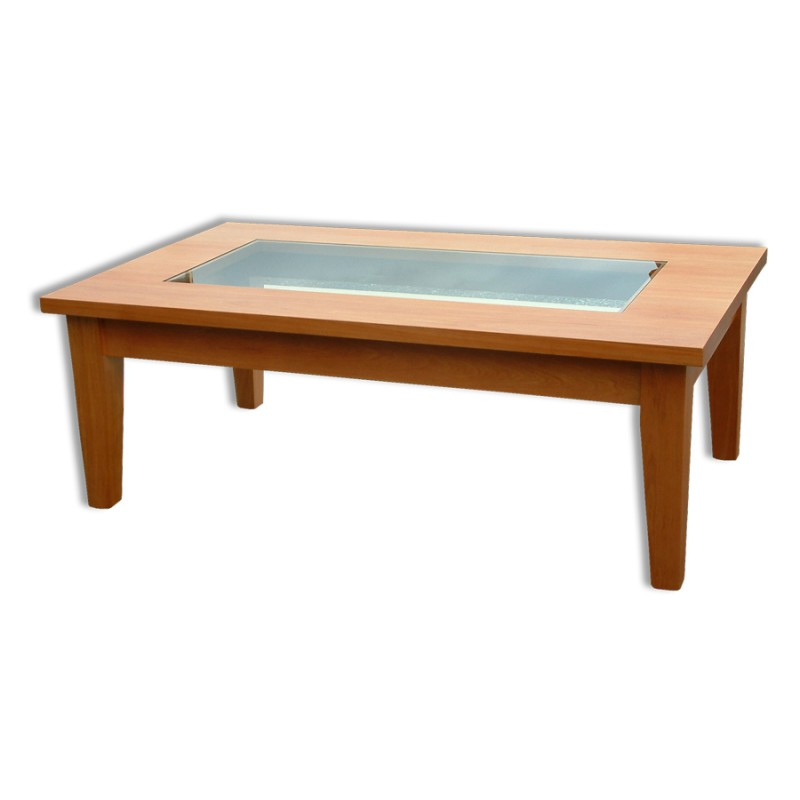 fortes with glass insert coffee table
