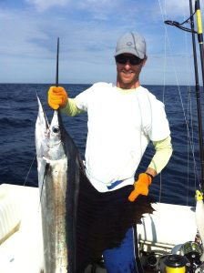 Offshore Fishing with hernia