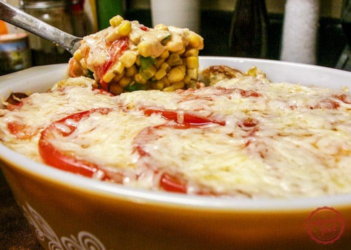 Super easy, creamy and delicious baked corn recipe.