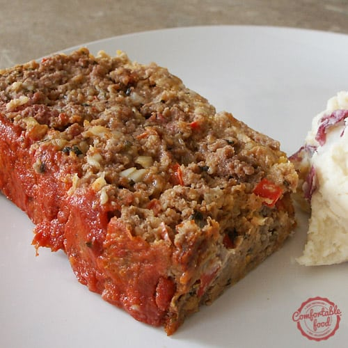 The best Italian Style Meatloaf.