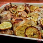 Roasted Chicken with Lemon and Vegetables