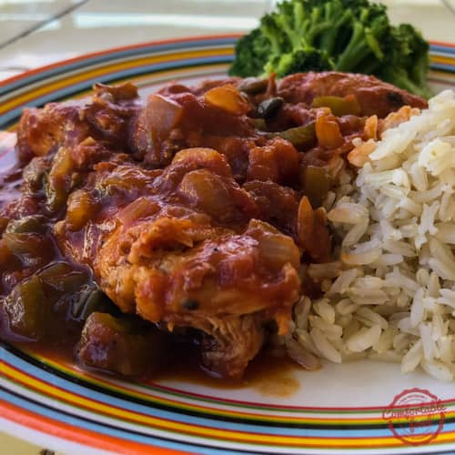 chicken cacciatore recipe