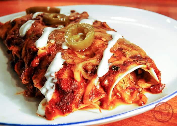 Black Bean Enchiladas Recipe