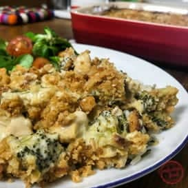 Creamy Chicken & Broccoli Casserole & Video