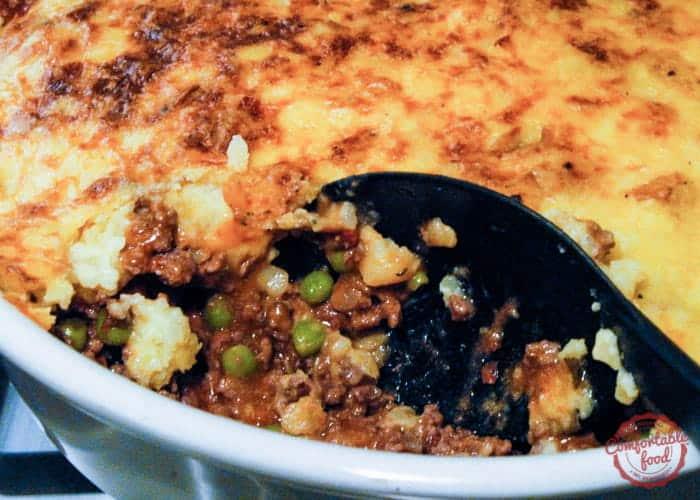 Traditional Shepherd's Pie   Comfortable Food
