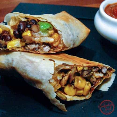 Perfectly spiced, perfectly crispy Mexican Spring Rolls.
