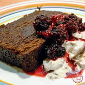 An Easy Chocolate Loaf Cake Recipe.