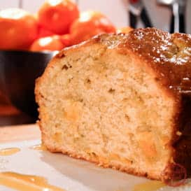 Very Delicious Vanilla Clementine Bread with Video