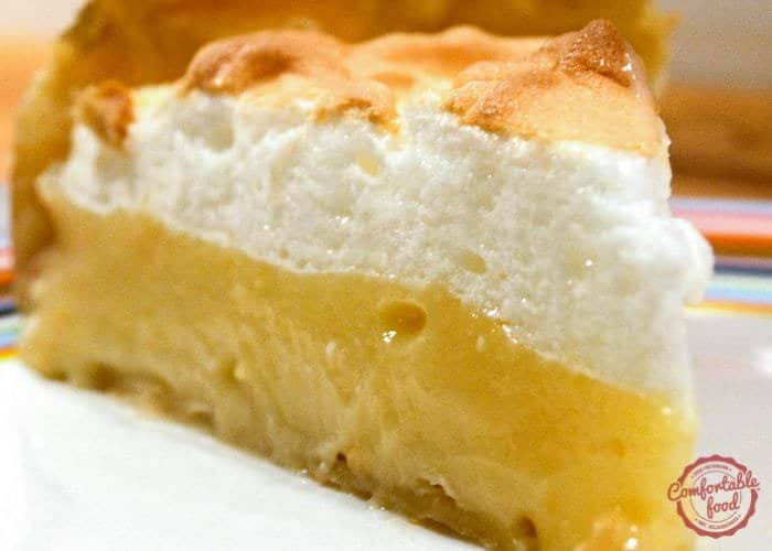 how to cook meringue on pie