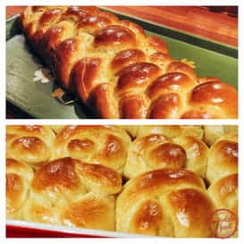 The best challah bread recipe.