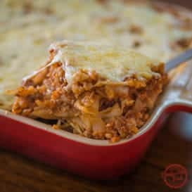 The Cabbage Roll Casserole from Comfortable Food.