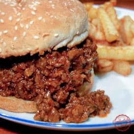 The Super Delicious Sloppy Joe & Video