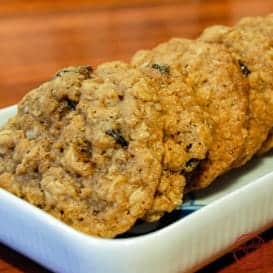 The best oatmeal raisin cookie recipe.