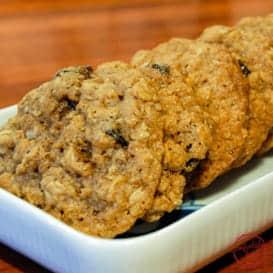 The best oatmeal raisin cookie recipe.