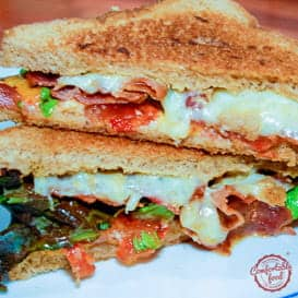The BLT Grilled Cheese Sandwich | comfortable food