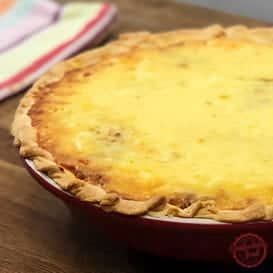 A perfectly delicious Cheeseburger Pie Recipe.