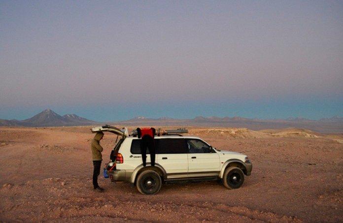 Montero Sport camper conversion San Pedro de Atacama Chile