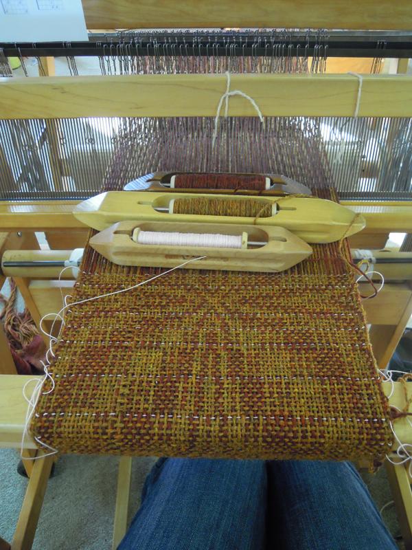 double weave overshot sampler