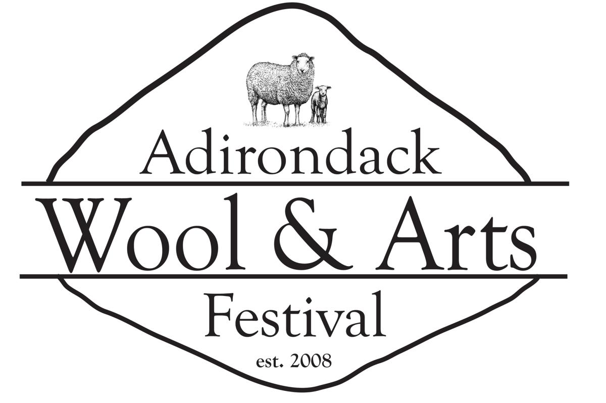 ADK Wool & Art Fest Logo