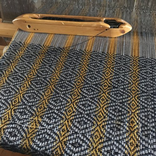 Hope Neck Kerchief Fabric on Loom