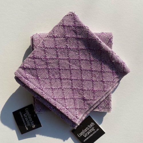 Face Towel Pattern 4 : Purple