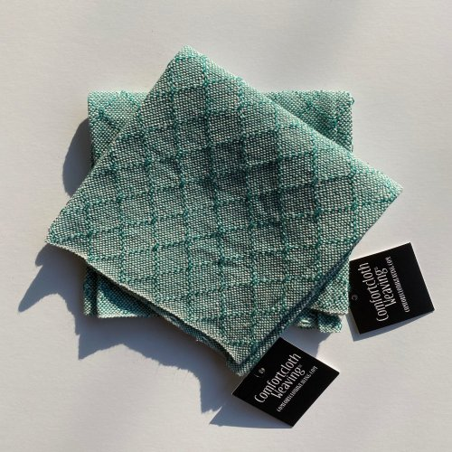 Face Towel Pattern 4 : Teal