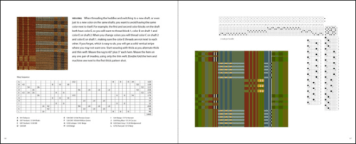Interior Pages of Custom Woven Interiors by Kelly Marshall : Bath Rug