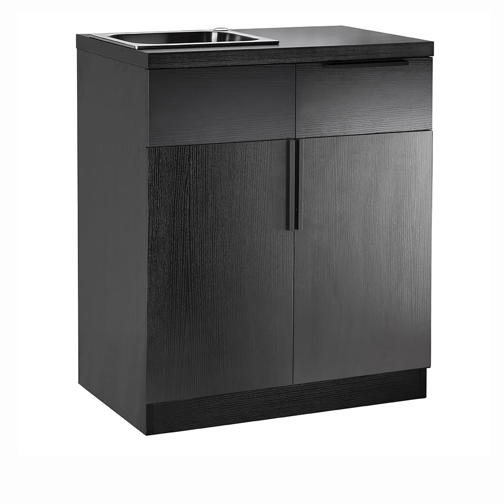colour bar cabinet with sink