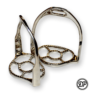 Baroque Stirrups, Chrome Image